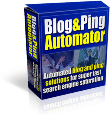 Product picture Blog and Ping Automator (PLR)