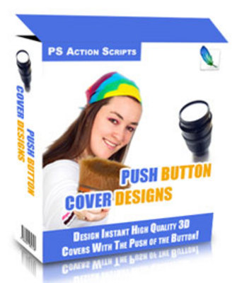 Product picture Push Button Cover Designs (PLR)