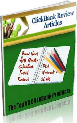 Product picture Clickbank Review Articles (PLR)