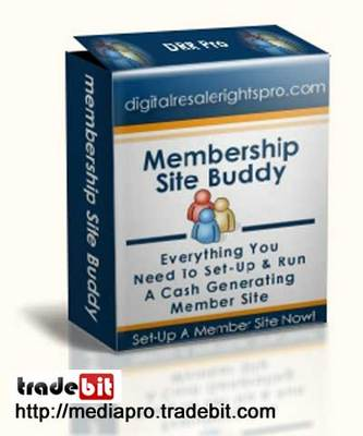 Product picture Membership Site Buddy (MRR)