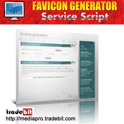 Product picture Favicon Generator Script (MRR)