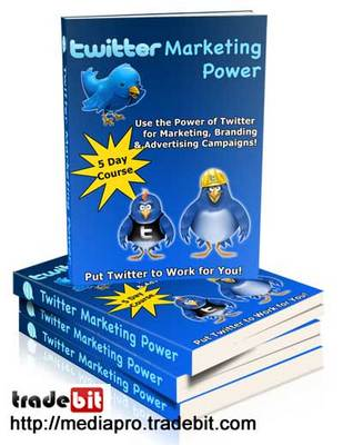 Product picture Twitter Marketing Power (PLR)