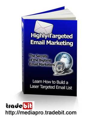 Product picture Highly Targeted Email Marketing (PLR)